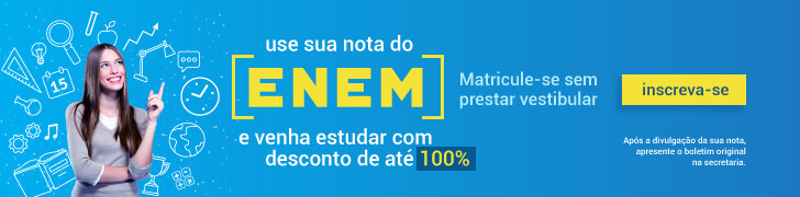 Use sua nota do ENEM